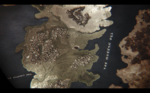 Westeros map, Game Of Thrones titles